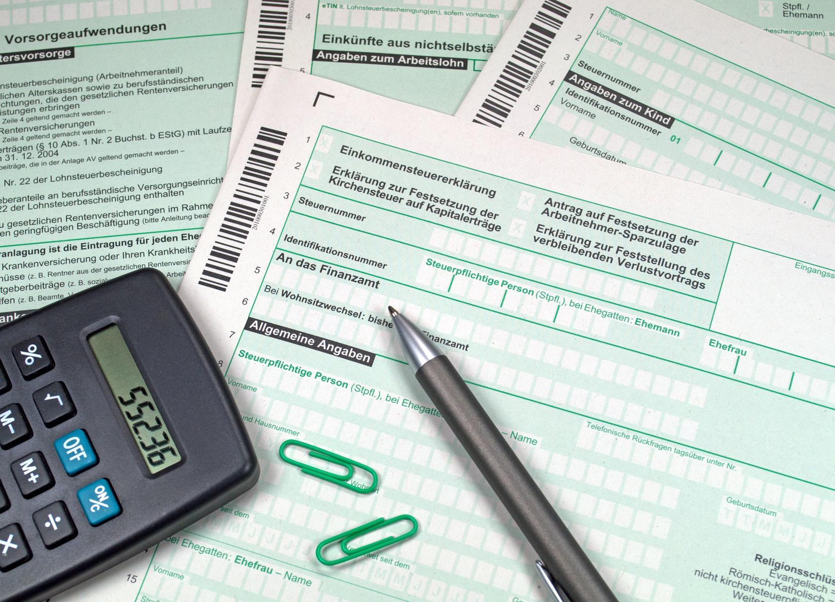 Steuererklärung machen lassen in Riesa - Lohnsteuerhilfe Riesa Weida